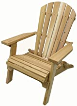 Folding Natural Cedar Adirondack Chair, Amish Crafted