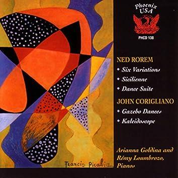 Rorem: 6 Variations, Sicilienne & Dance Suite - Corigliano, Jr.: Gazebo Dances & Kaléidoscope