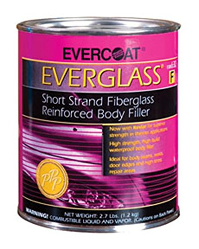 Fibreglass Evercoat 632 Everglass Short Strand Fiber Reinforced Filler - Quart