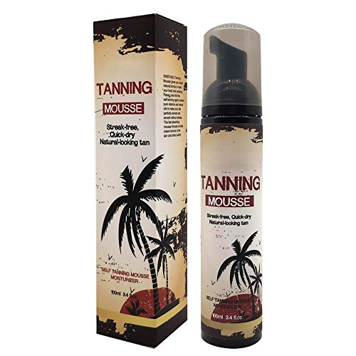 Qkiss 100ml Self Tanner Longlasting Moisturizing Sunless Tanning Lotion Body Cream