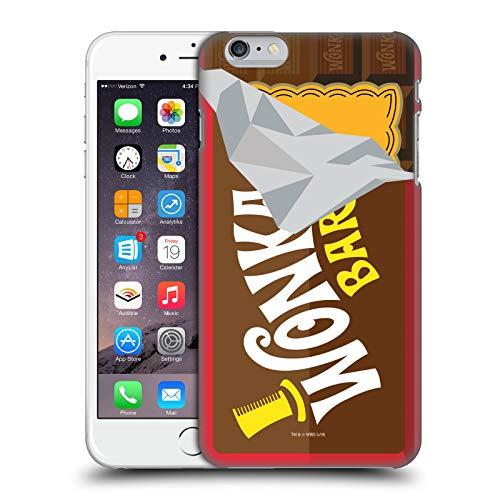 Head Case Designs Ufficiale Willy Wonka And The Chocolate Factory Bar di Dolci Grafiche Cover Dura per Parte Posteriore Compatibile con Apple iPhone 6 Plus/iPhone 6s Plus