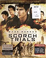 Maze Runner: The Scorch Trials - 2 Disc Ultimate Fan Edition - Limited Edition Blu Ray with Photo Diary - 24 Page