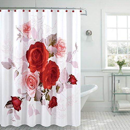 Rose shower curtain _image2