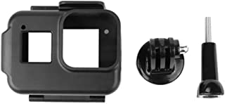 XIANYUNDIAN غطاء حماية كاميرا مقاوم للصدمات إطار قفص حماية لكاميرا GoPro Hero8 أسود إكسسوارات الكاميرا الكاميرا حامل المشابك