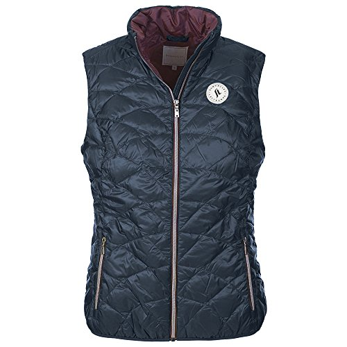 Sun Valley Damen frissel Steppjacke M Navy