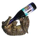 River's Edge Products Wine Bottle Holder - Alligator