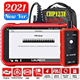 LAUNCH OBD2 Scanner CRP123E Engine ABS SRS Transmission Car Code Reader, Auto VIN, Android 7.0, Lifetime Free Update, Share/Print Diagnostic Report, TPMS Tool as Gift