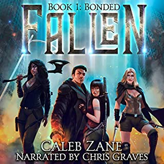 Bonded     Fallen, Book 1              By:                                                                                                                                 Caleb Zane                               Narrated by:                                                                                                                                 Chris Graves                      Length: 6 hrs and 1 min     79 ratings     Overall 4.3
