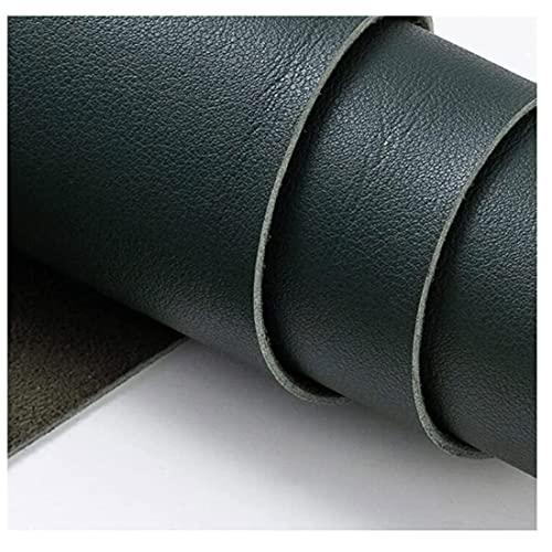 Feaux In Pelle Morbido Pu In Vinile In Pelle Sintetica Tessuto In Pelle Sintetica In Similpelle Litchi Grano Texture In Cuoio Tessuto In Pelle In Pelle Vinile Cuoio (Size:1.38x2m,Color:Verde Matcha)