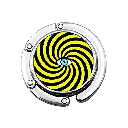 Símbolo de Ojo Dentro de círculos en Espiral hipnóticos León Mapa de la constelación Plegable