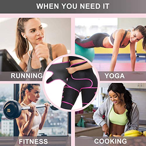 Product Image 7: YWYJOSOF Waist Trainer for Women, 3 in 1 Waist Thigh Trimmer and Weight Loss Butt Lifter Shaper for Workout,Training Fitness Shapewear Body Shaper Belt for Weight Loss Thigh Trimmers