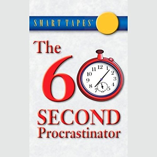 The 60 Second Procrastinator audiobook cover art