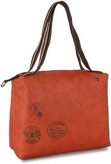 Baggit Women's Shoulder Bag (Orange) (U 1)