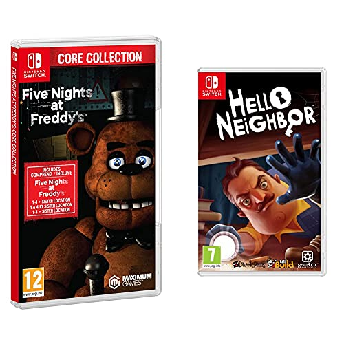 Tesura Games Five Nights at Freddy's: Core Collection + Gearbox Publishing Hello Neighbor