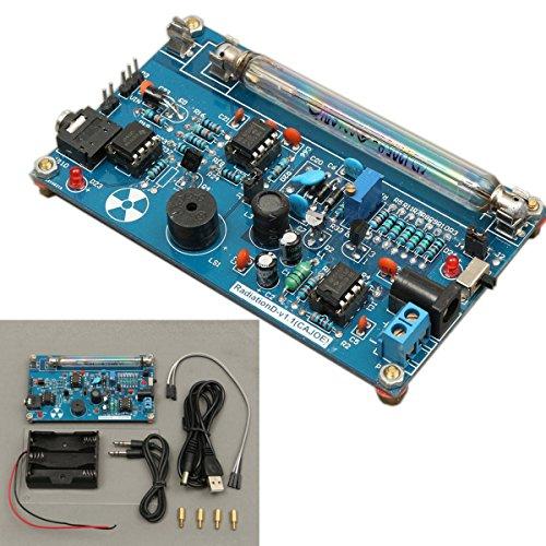 ILS - Assembled DIY Geigerzähler Kit Modul Miller Rohr GM Rohr Nuclear Radiation Detector