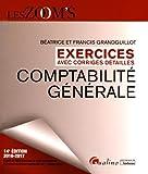 Comptabilité générale - Exercices avec corrigés détaillés - Gualino Editeur - 30/08/2016