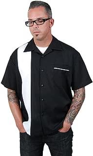 Steady Men's Single Panel Button Bowling Shirt