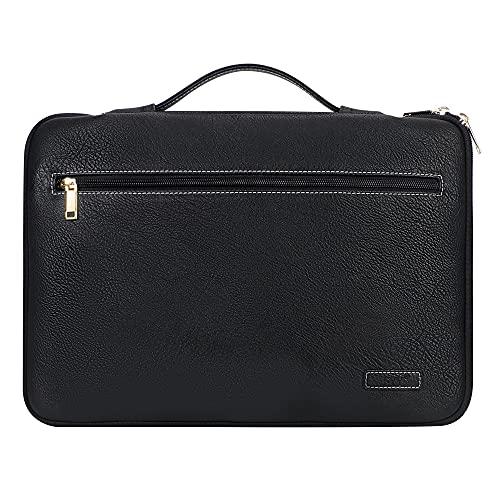 FYY Premium PU Leather Laptop Sleeve Case
