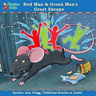 Red Man and Green Man's Great Escape: Children's Stories by Playtime Books cover art