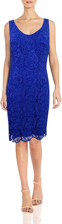 Lauren by Ralph Lauren Women's Lace V-Neck Dress