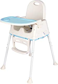 Baby Dining Chair 3-in-1 Portable High Chairs Travel Booster Seat with Tray for Baby Feeding,Folding Portable High Chair,S...