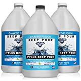 Epoxy Resin Crystal Clear-Deep Pour 2 Inch Art Epoxy Casting Resin-3 Gallon...