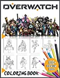 Overwatch Coloring Book 100+ Premium Pages: Overwatch Stunning Coloring Books For Kids And Adults Awesome Collections