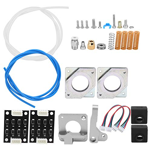 Jeanoko High Efficiency Complete Aluminum Block 3D Printer Springs Dampers 3D Printer Extruder Upgrade Kit 3D Printer Extruder for CR-10 CR10S 3D Printer
