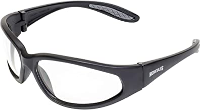 Global Vision Eyewear Men's Hercules 24 Safety Glasses with Photochromic Color Changing Lenses