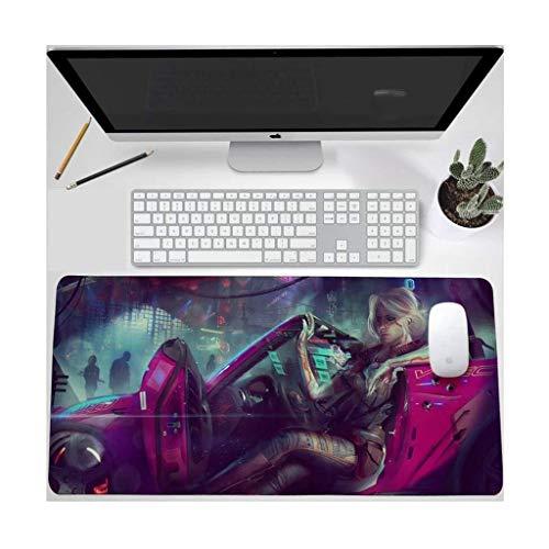 CFTGB Gaming Mouse Pad Grote Muismat The Witcher Game Toetsenbord Mat Cafe Mat XXL uitgebreide muismat voor computer PC-muismat