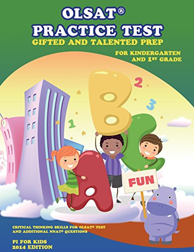 Olsat Practice Test Gifted And Talented Prep For Kindergarten And 1st Grade Gifted And Talented Prep Gifted And Talented Practice Test Volume 2