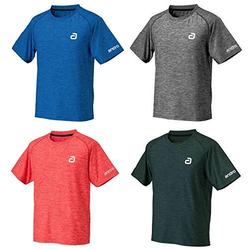 ANDRO T-Shirt Melange Alpha, XL, blau