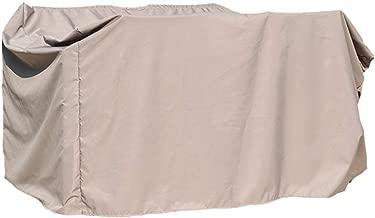 100 170 cm Zelt-Kleint WCS Au/ßenhof Schaukel Abdeckung Wasserdichte Sonnencreme Schutzh/ülle Strandkorb Abdeckung Schwarz 130