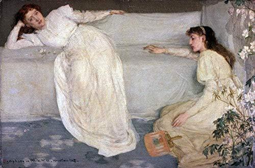 Ein neues digitales Gemälde für Erwachsene und Kinder - James Whistlers