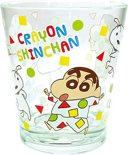 ティーズファクトリー クレヨンしんちゃん カラークリスタルカップ パジャマ H9.2×Φ8cm KS-5526276PJ