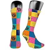 Calcetines de running para hombres Mujeres Love You Hand Lettering Compression Calcetines 40cm