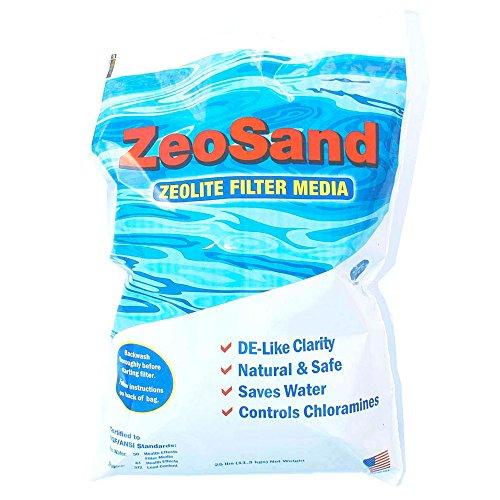 ZeoSand Pool Filter Filtration Media 25lbs