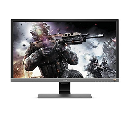 BenQ 28-inch UHD 4K HDR,1ms Response Time Console Gaming Monitor with Free Sync, Brightness Intelligence Plus, HDMI, DP, Built-in Speakers - EL2870U (Black)