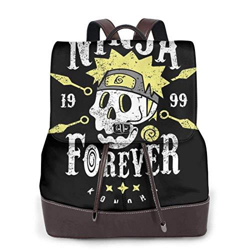 Ninja Forever Women's Bapack, College Girl School Bag, Ladies Travel Bapack, Ladies Leather Bapackck