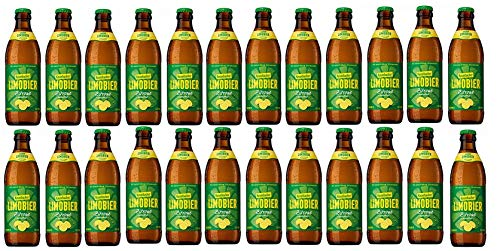 24 Flaschen Krombacher Limobier Zitrone naturtrüb a 0,33lmit 1,5% Vol. inclusiv 0.48€ MEHRWEG Pfand Biermix