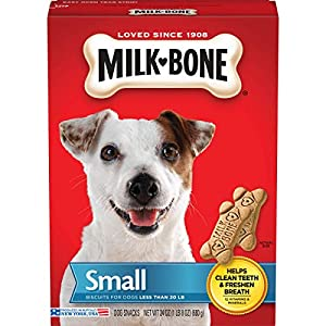Milk-Bone Original Dog Treats Biscuits for Small Dogs, 24 Ounces (Pack of 12)