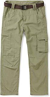 Phorecys - Pantalón deportivo de secado rápido para niño (sin cinturón)