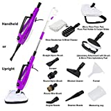 WOLF Pro 1500w Steam Cleaner Mop 14-in-1 Hand Held Steamer for Floors, Garments