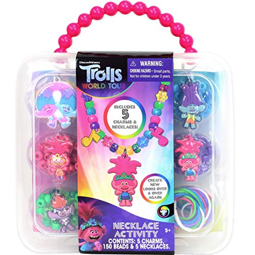Product Image of the Tara Toys Trolls Necklace Activity Set