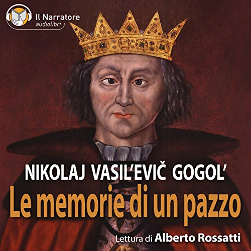 Le memorie di un pazzo audiobook cover art