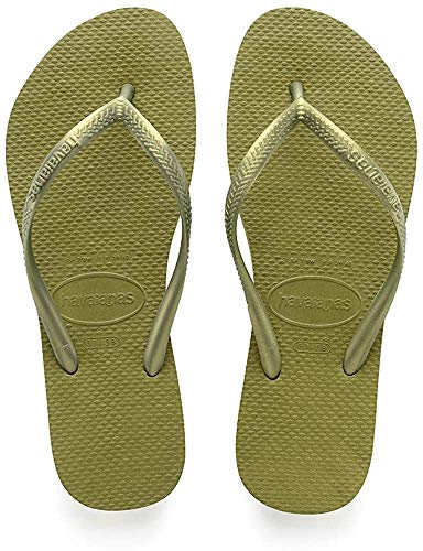 Havaianas Women's Flip Flop Sandals, Camo Green, US 8.5