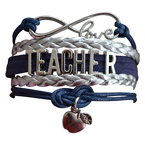 Infinity Collection Teacher Bracelet-Teacher Gift, Show Your Teacher Appreciation