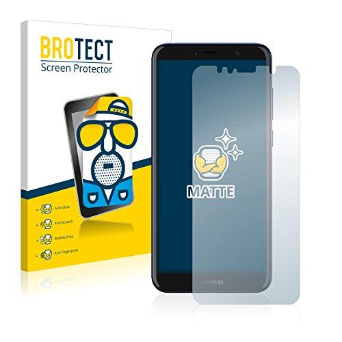 BROTECT 2X Entspiegelungs-Schutzfolie kompatibel mit Huawei Y6 2018 / Y6 Prime 2018 Bildschirmschutz-Folie Matt, Anti-Reflex, Anti-Fingerprint