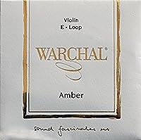 Warchal Amber ワーシャル アンバー バイオリン弦 701L E-メタル ステンレススチール・ループエンド【国内正規品】