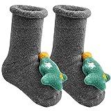 Aitsite 1 Pares Calcetines de Dibujos Aanimados de Navidad de Bebé Niños Calcetines Lindos de Algodón para Niñas Niños